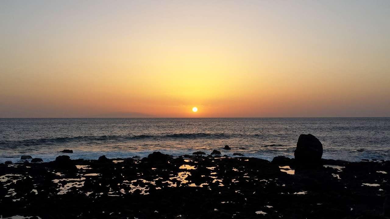 Sonnenuntergang Sauca © Annette Bauer yoga-xperience.de