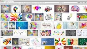 Kreativität © Bildschirmfoto/Google yoga-xperience.de