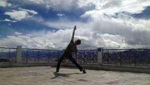 Mann Yoga Terrasse