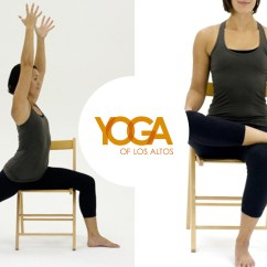 Chair Yoga Videos Loose Covers For Weddings With Cheryl Acheson Of Los Altos