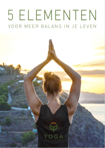 E-book 5 elementen yoga outdoors