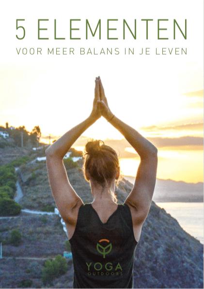 E-book 5 elementen yoga outdoors