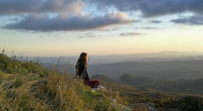Overprikkeling te lijf: meditatie outdoors