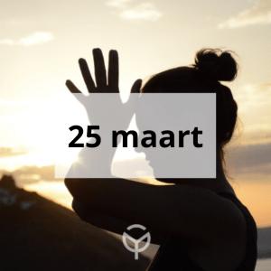 Online retreat 25 maart