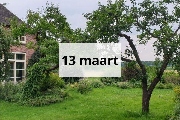 dagretreat 13 maart