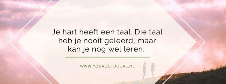 Sjamanisme yoga taal hart
