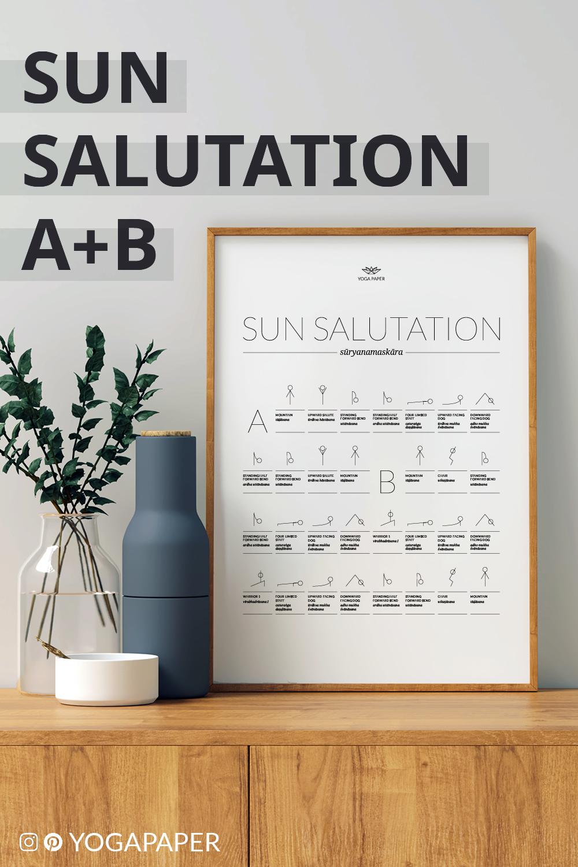 Sun Salutation In Sansrit / Surya Namaskar Sun Salutation Steps ...