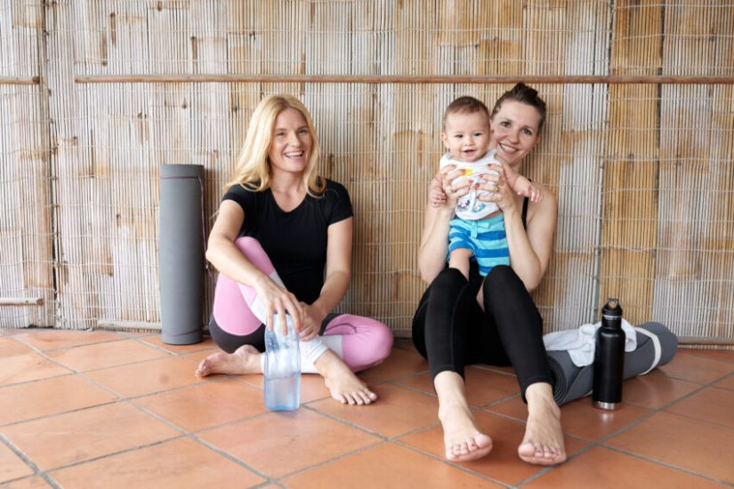 Mums and Bubs Yoga in Parramatta