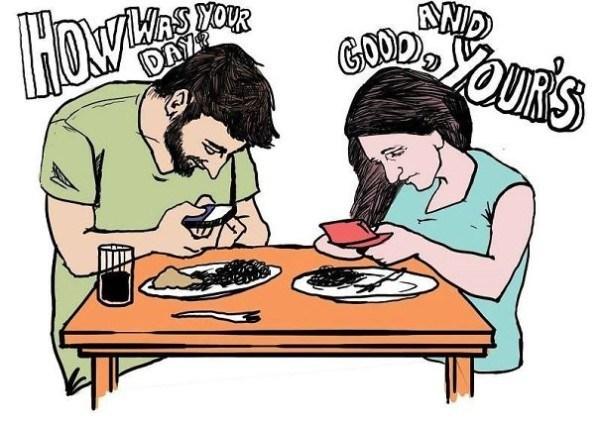 Phone Dinner