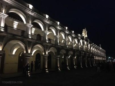 Antigua by night