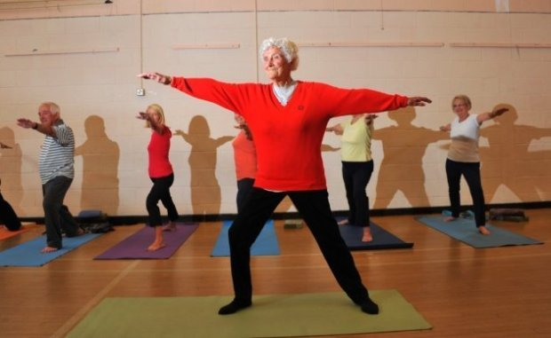 International Women's Day 2020 Eileen Ash Norwich Yoga