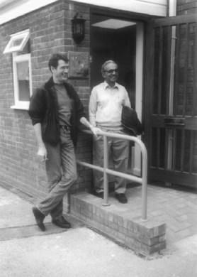 TKV Desikachar and Paul Harvey