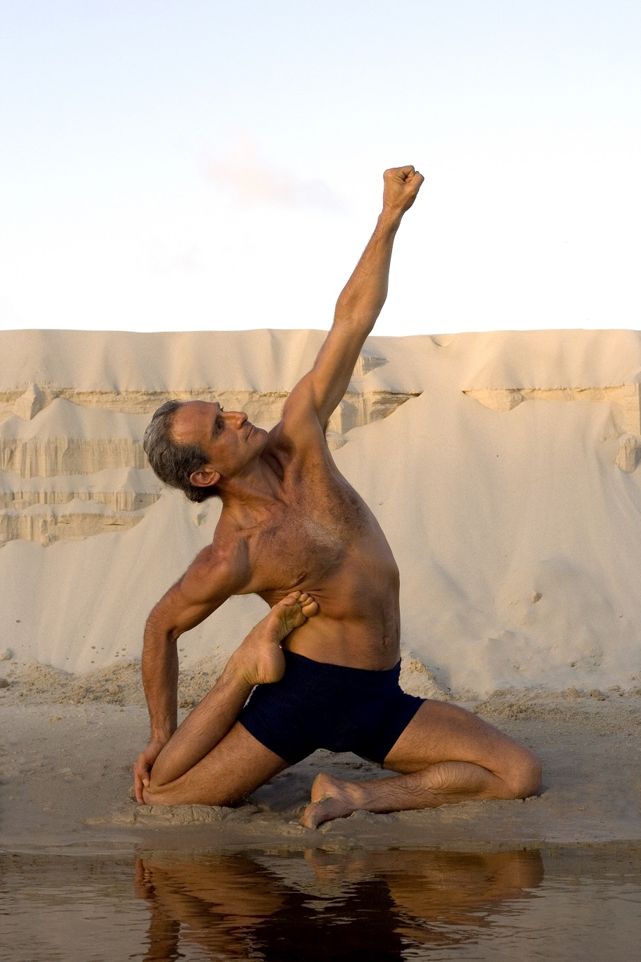 Simon Borg-Olivier in Kulphasana: The Long Exhalation to Freedom (Photo Courtesy Donatella Parisini)