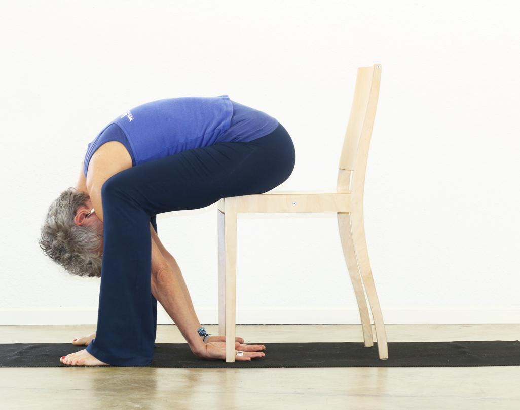 seated chair yoga poses for seniors living room with ottoman standing forward bend uttanasana yogatherapyalacarte