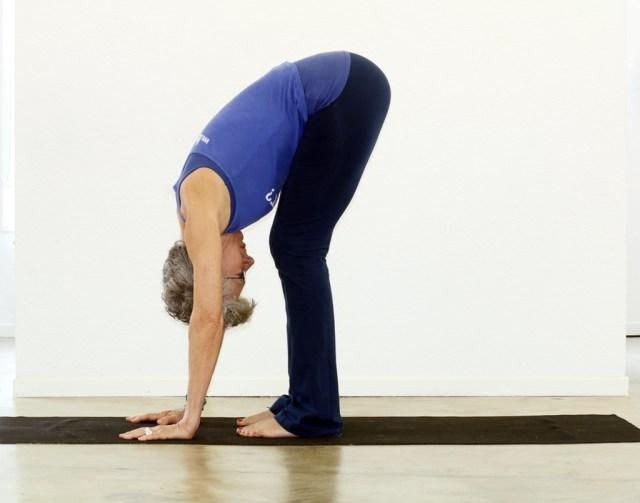 Standing Forward BendUttanasana YogaTherapyALaCarte
