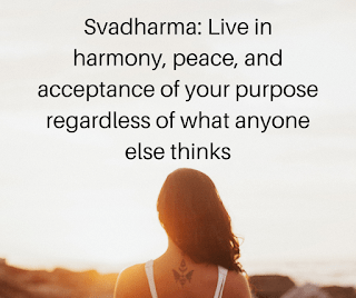 Svadharma to Live Your Truth