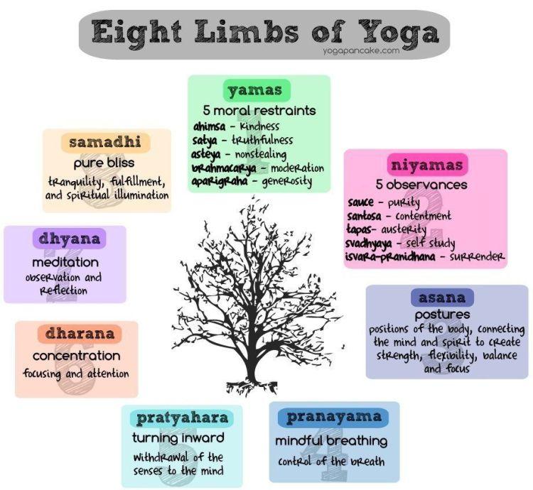 8 Limbs of yoga Journey