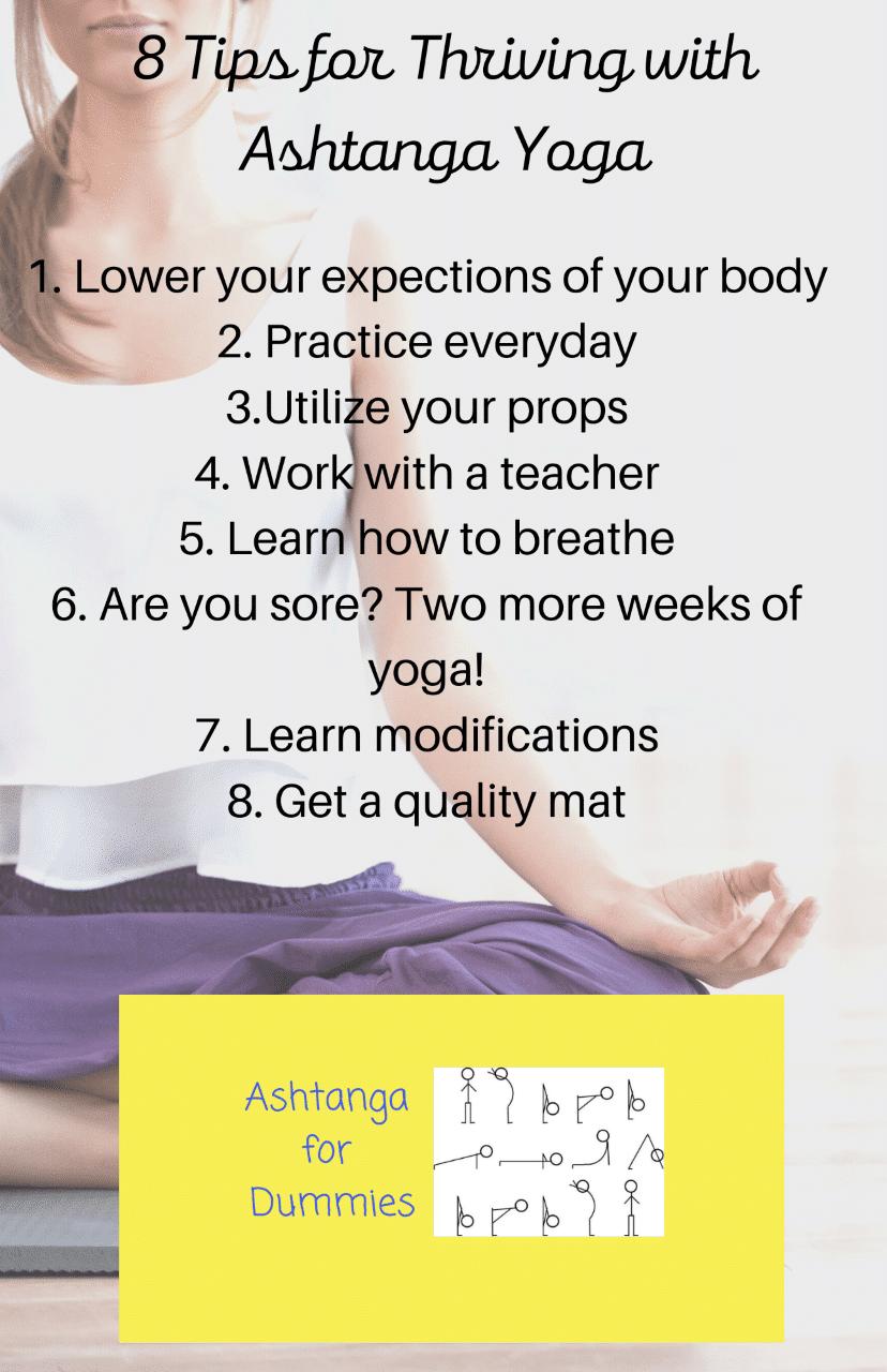 8 Tips for Thriving with Ashtanga Yoga