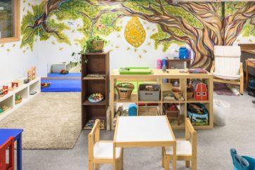 Yoga studio Portland with childcare