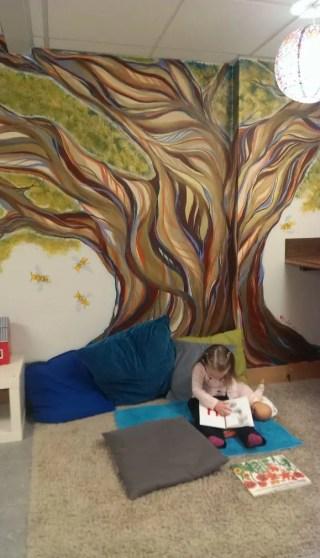 Portland yoga studio with child care
