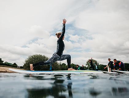 Yoga und Wellness Yogaurlaub Krakow am See