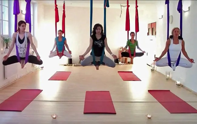 aerial yoga the best