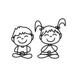 Kinderyoga bij YogaVé in Deinze