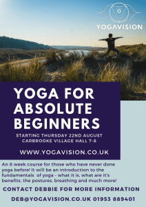yoga for absolute beginners 1