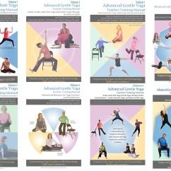 Chair Yoga For Seniors Vintage Revolving Teachers Advanced Gentle Senior And Training Manuals Academy 8 Pack