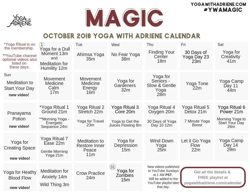 october 2018 ywa yoga