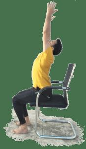 Seated Back-bend - Yoga with Ankush