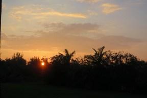 Sunset at HIRC