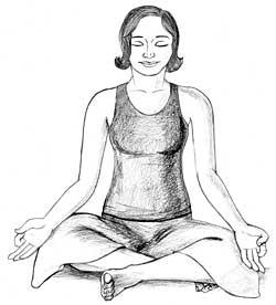 yoga pose easy sukhasana meditation drawing poses cross legs benefits asana seated trimester pregnancy second crossed hold bhava dharma teaching