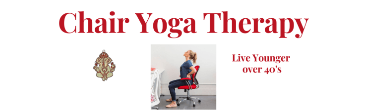 chair yoga therapy works with zoe