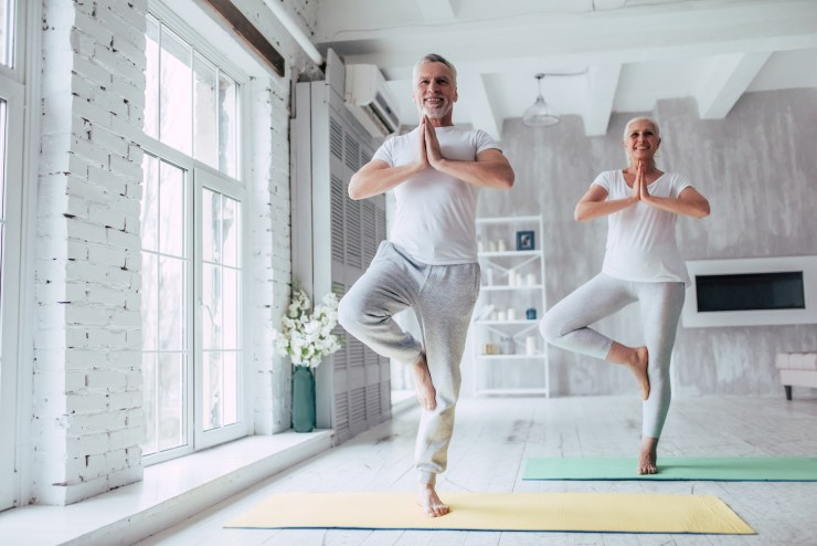 Online Yoga for over 40's