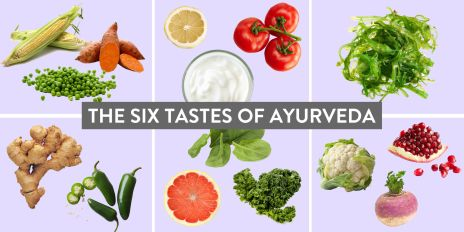 Tastes of food Ayurveda