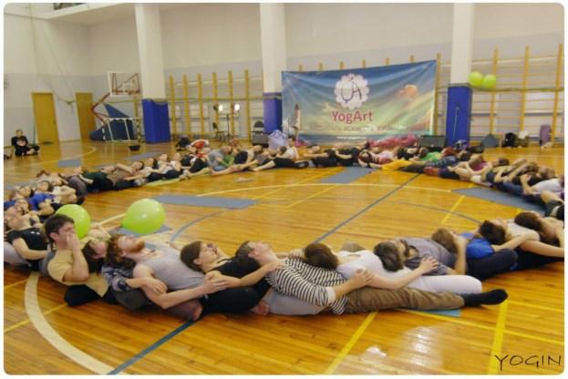 yogart kryg  Фестиваль YogArt  пройдёт в  Санкт Петербурге 2 ноября: