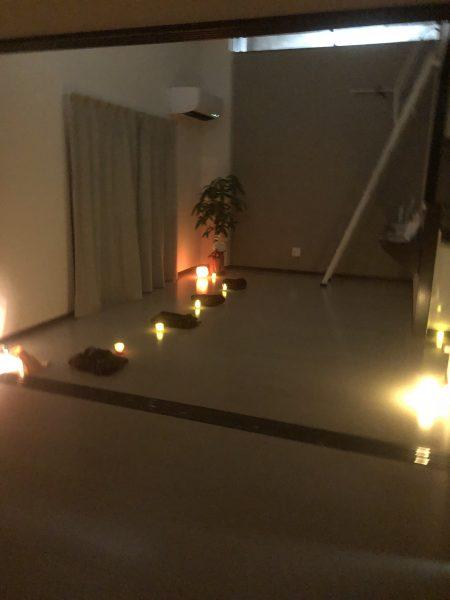 瞑想沖縄夜のクラス