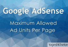 Google Maximum Ads Per Page