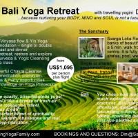 Blissful Bali Yoga Retreat, 15-22 April'17