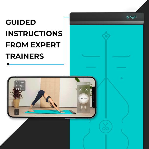 guided yoga instruction