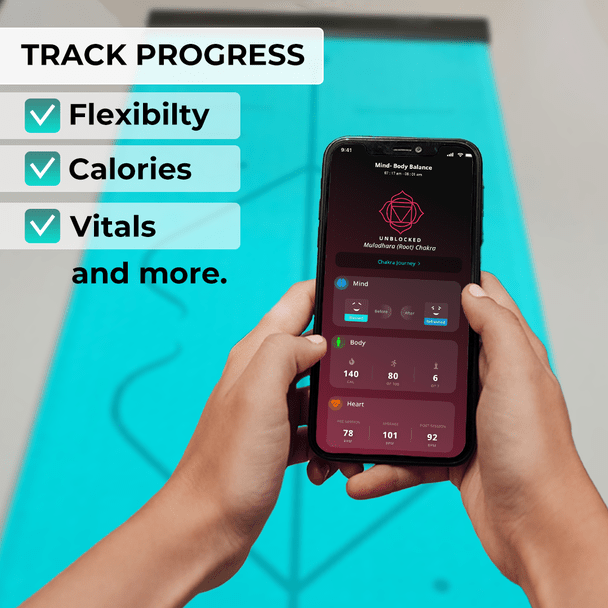 track progress of your yoga practice