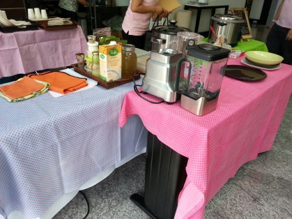 Just a Breville blender and rice cooker and we were good to go!