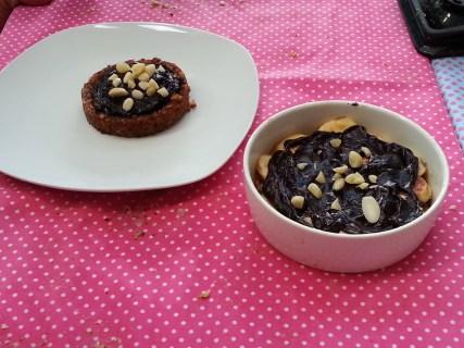 Chocolate Nut Tarts