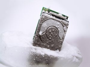Frozen HDD