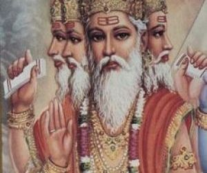 Lord Sri Brahma – The Creator of the Universe