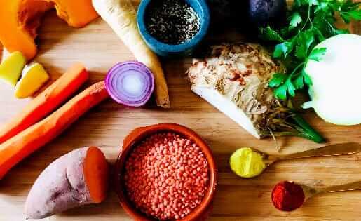 Ayurvedischer Gemüseeintopf