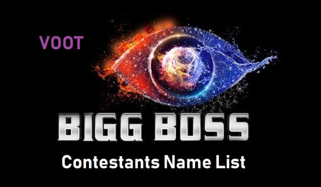 Bigg Boss 14 Contestants Names
