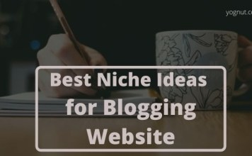 Best Niche Ideas for Blogging Website