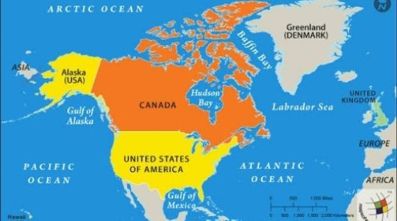 Border Between USA and Canada | The Interesting Fact about Strange International Borders